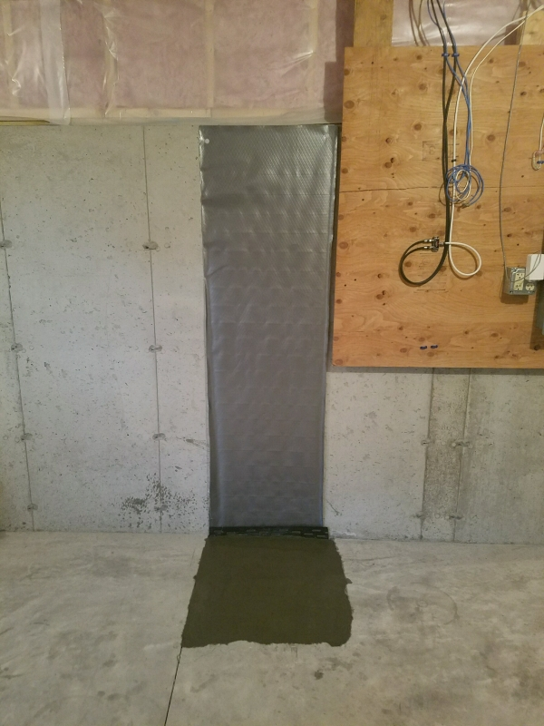 Lally Column Replacement Newton MA - Premier Basement Waterproofing - 20161206_111611__1_