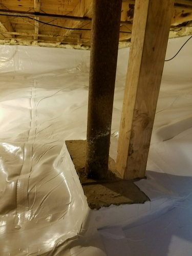 Crawl Space Dehumidification Cambridge MA