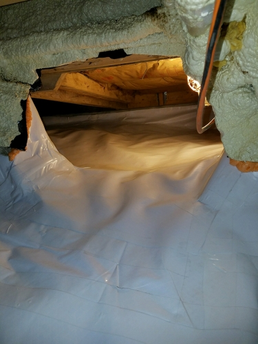 Crawl Space Encapsulation Framingham MA