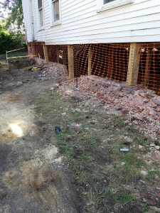 Foundation Repair Brookline MA - Premier Basement Waterproofing - 20160811_113845