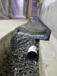 Waterproofing Contractors Nashua NH - Premier Basement Waterproofing - 20161103_115931