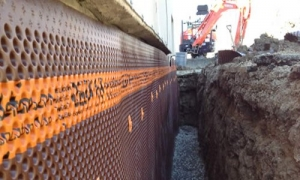 Exterior Waterproofing Foundation Barrier