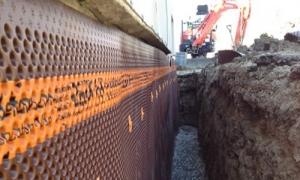 Exterior barrier