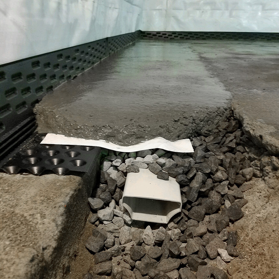 Basement Waterproofing Amherst NH