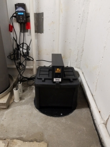 Battery back up system