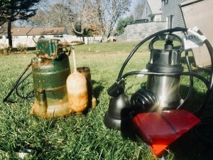 Old sump Vs. the pumps we use